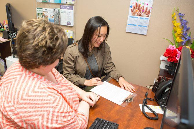 Health insurance enrollment assistance