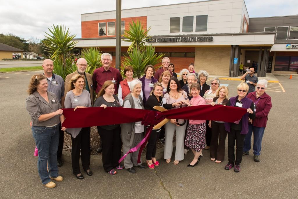 Health Center ribbon cutting Sept 2014