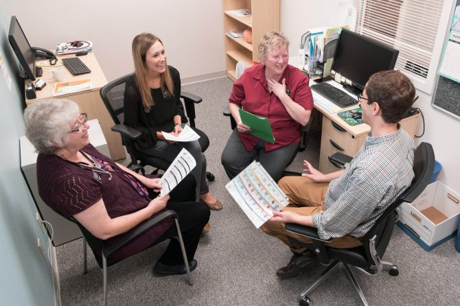 Health center care team welcomes new professionals