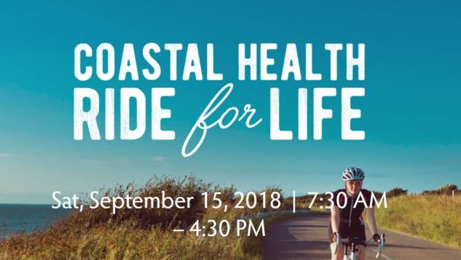 First Annual Coastal Health Ride for Life