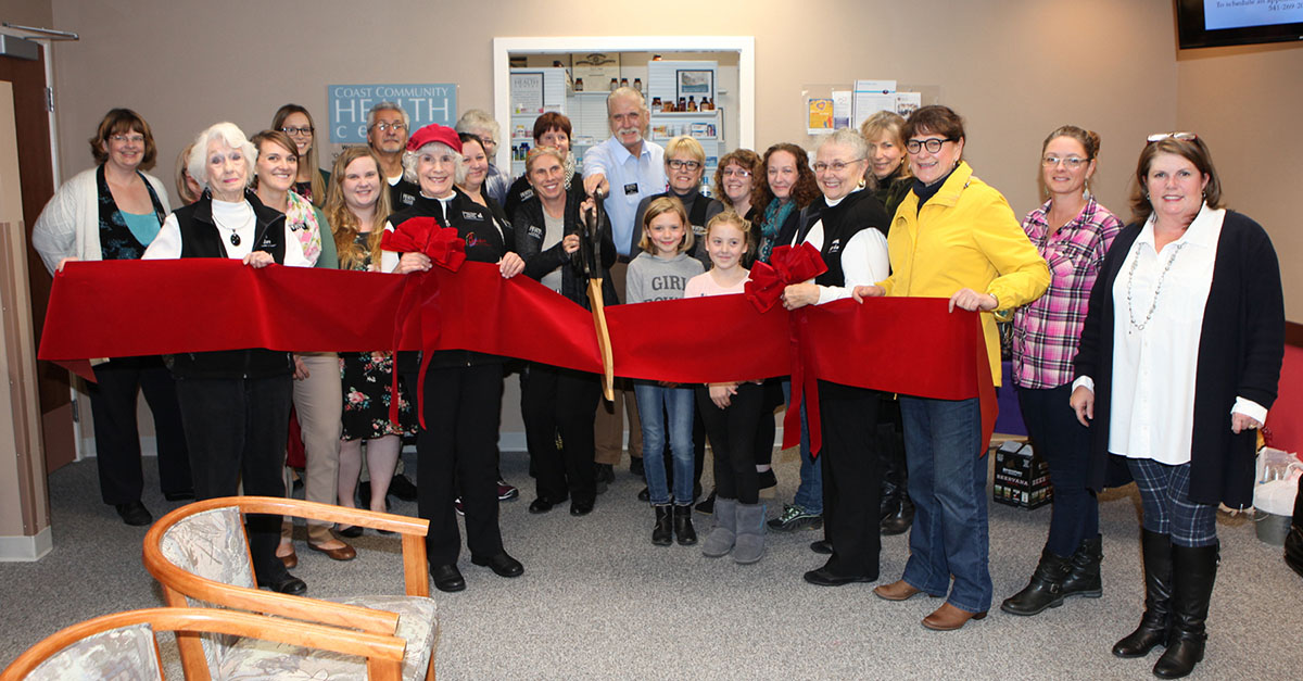 health services, pharmacy, ribbon cutting event