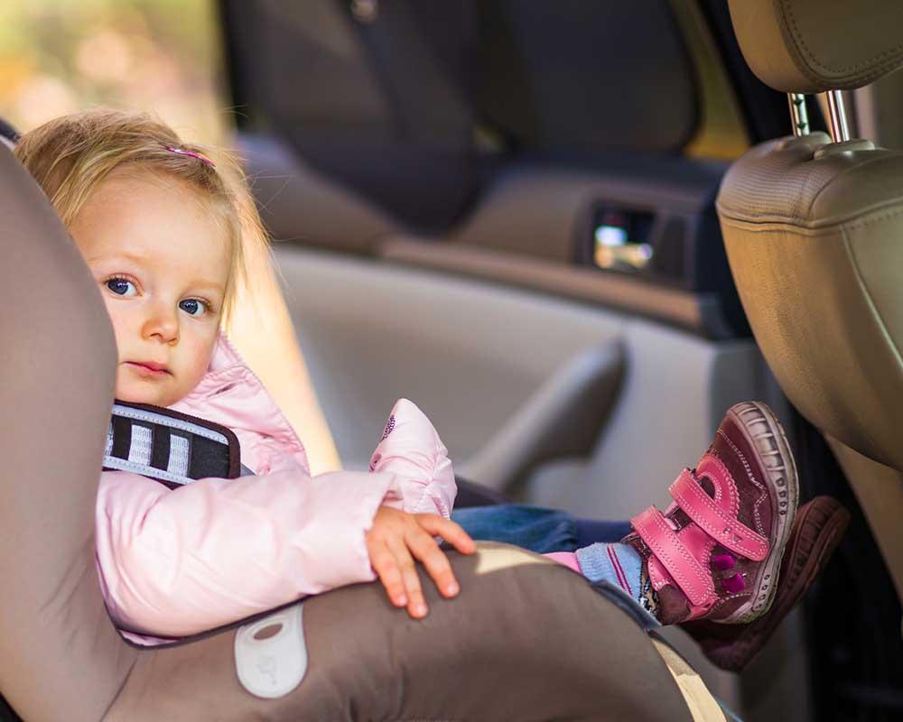 transportation, child in car